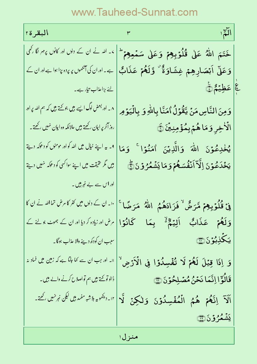 Translation quran pdf urdu the holy with
